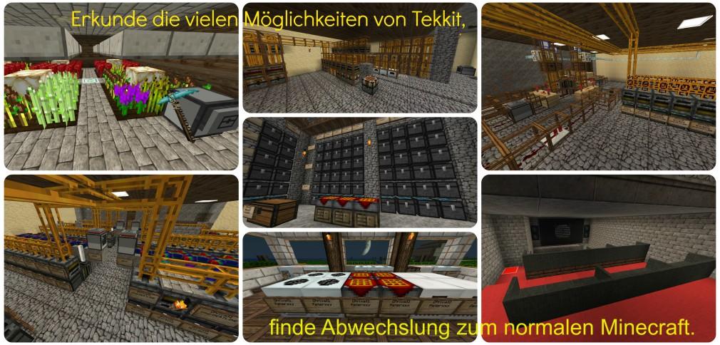 Abwechslung vom normalen Minecraft