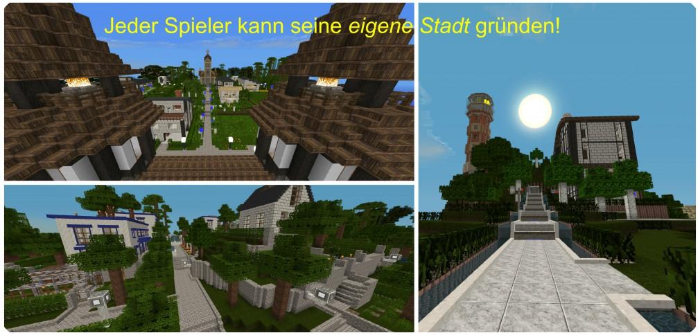 TekkRiver User-Städte